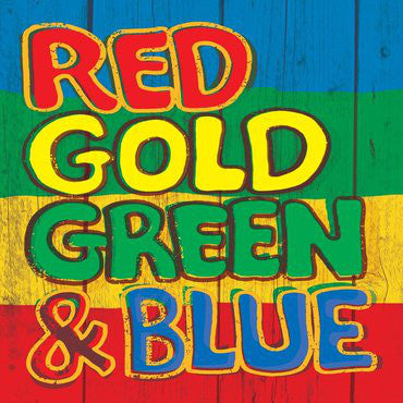 VARIOUS ARTISTS Red Gold Green & Blue LP