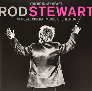 ROD STEWART You're In My Heart: Rod Stewart & The RPO 2LP SET PINK VINYL