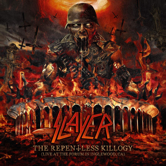 SLAYER The Repentless Killogy Live At The Forum In Inglewood, CA 2LP SET