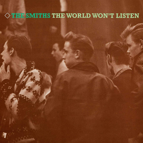 THE SMITHS The World Won't Listen 2LP set