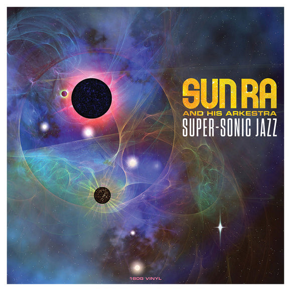 SUN RA Super Sonic Jazz LP