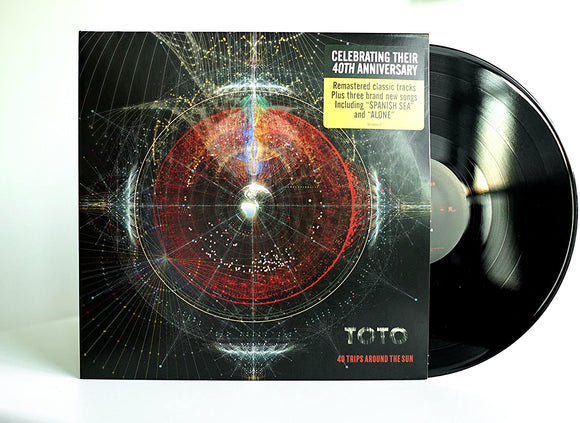 TOTO Greatest Hits - 40 Trips Around The Sun BEST OF 2LP SET