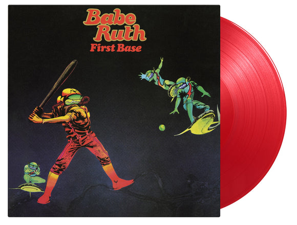 BABE RUTH First Base LP Limited Numbered Red Vinyl