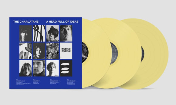 CHARLATANS  A Head Full Of Ideas 3LP SET Opaque Vinyl INDIES EXCLUSIVE