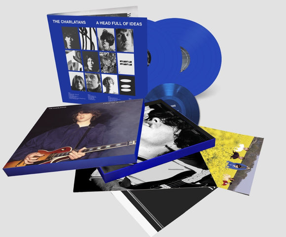 CHARLATANS  A Head Full Of Ideas 6LP BOXSET Blue Vinyl - Signed