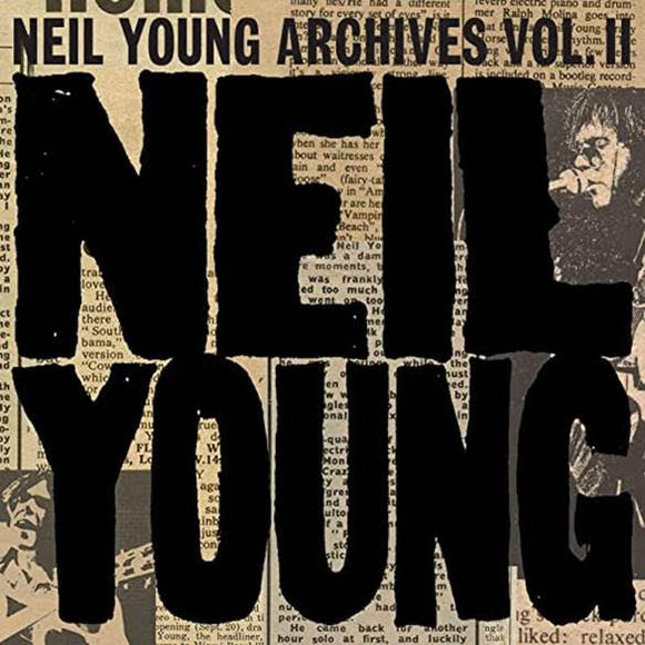 NEIL YOUNG Archives Vol 2 (1972-1976) 10 CD BOX SET - LIMITED