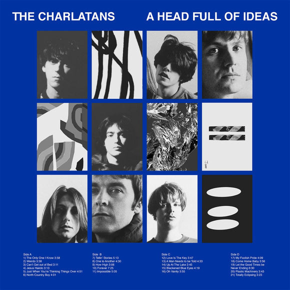 CHARLATANS  A Head Full Of Ideas 2CD SET