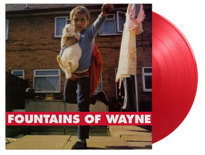 FOUNTAINS OF WAYNE Fountains of Wayne LP Numbered Red Vinyl
