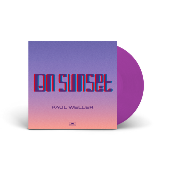 PAUL WELLER  On Sunset PURPLE VINYL 2LP SET