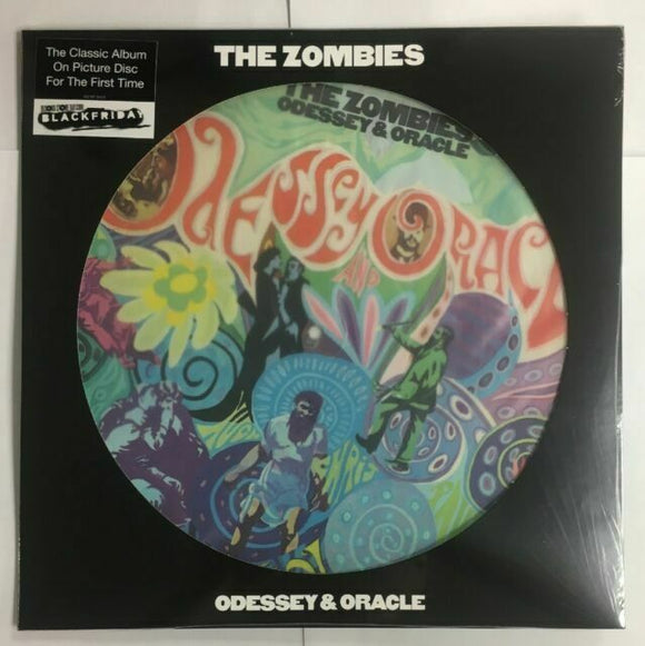 ZOMBIES Odyssey and Oracle LP Picture Disc