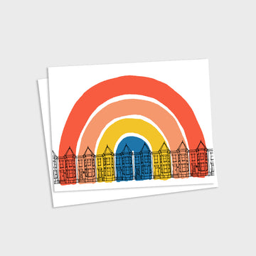 Washington DC Rainbow Card