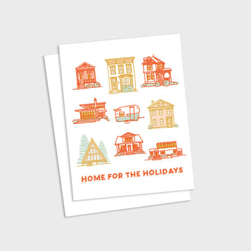 Home For The Holidays Card