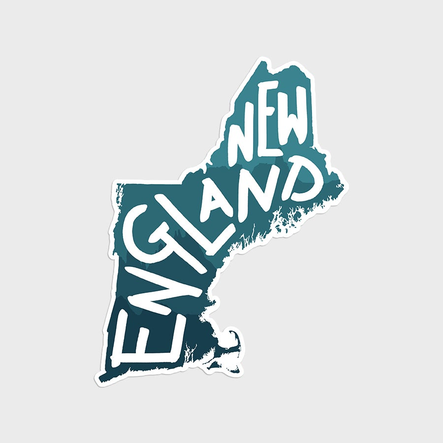 New England Sticker or Magnet