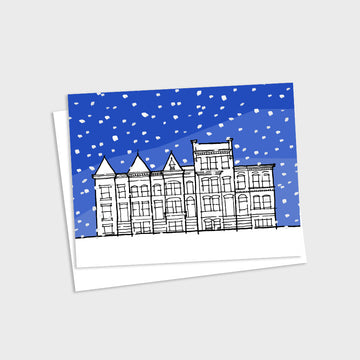 Washington DC Winter Card