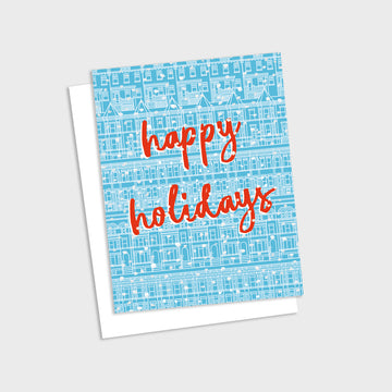 Washington DC Happy Holidays Card