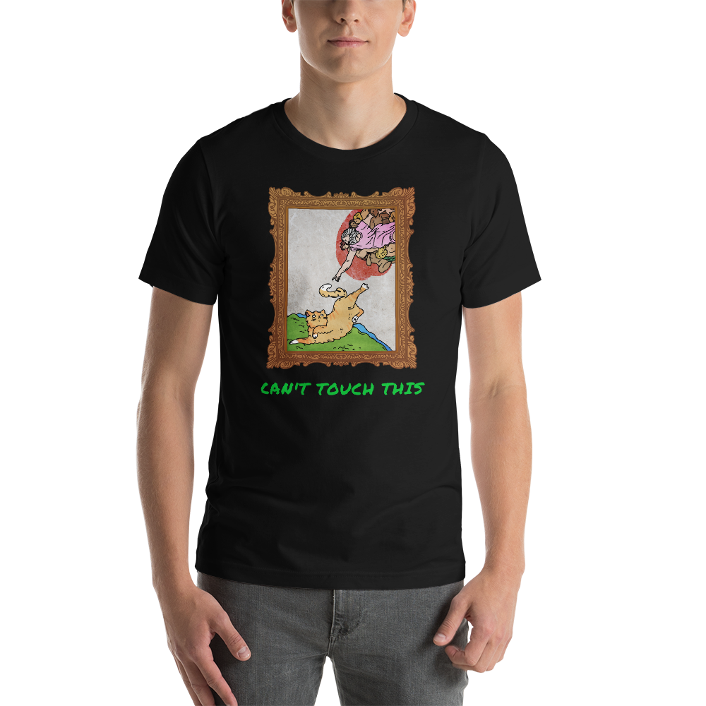 weebtees [Can't Touch This] Short-Sleeve Unisex T-Shirt