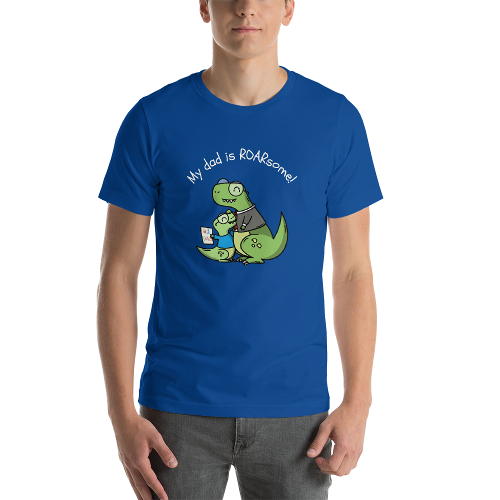 [Dino Dad | Roarsome] Short-Sleeve Unisex T-Shirt