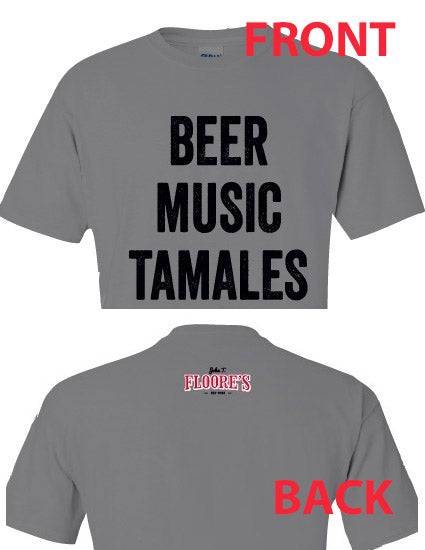NEW! Beer, Music, & Tamales T-Shirt
