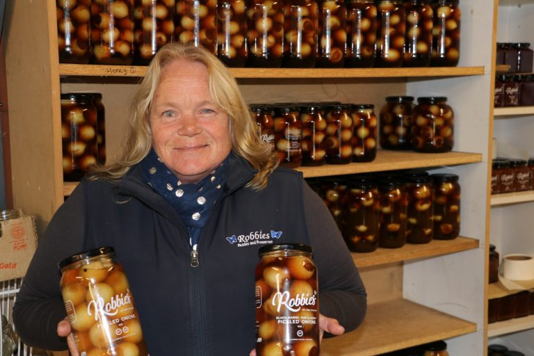 Pickled onions take off at market like a rocket