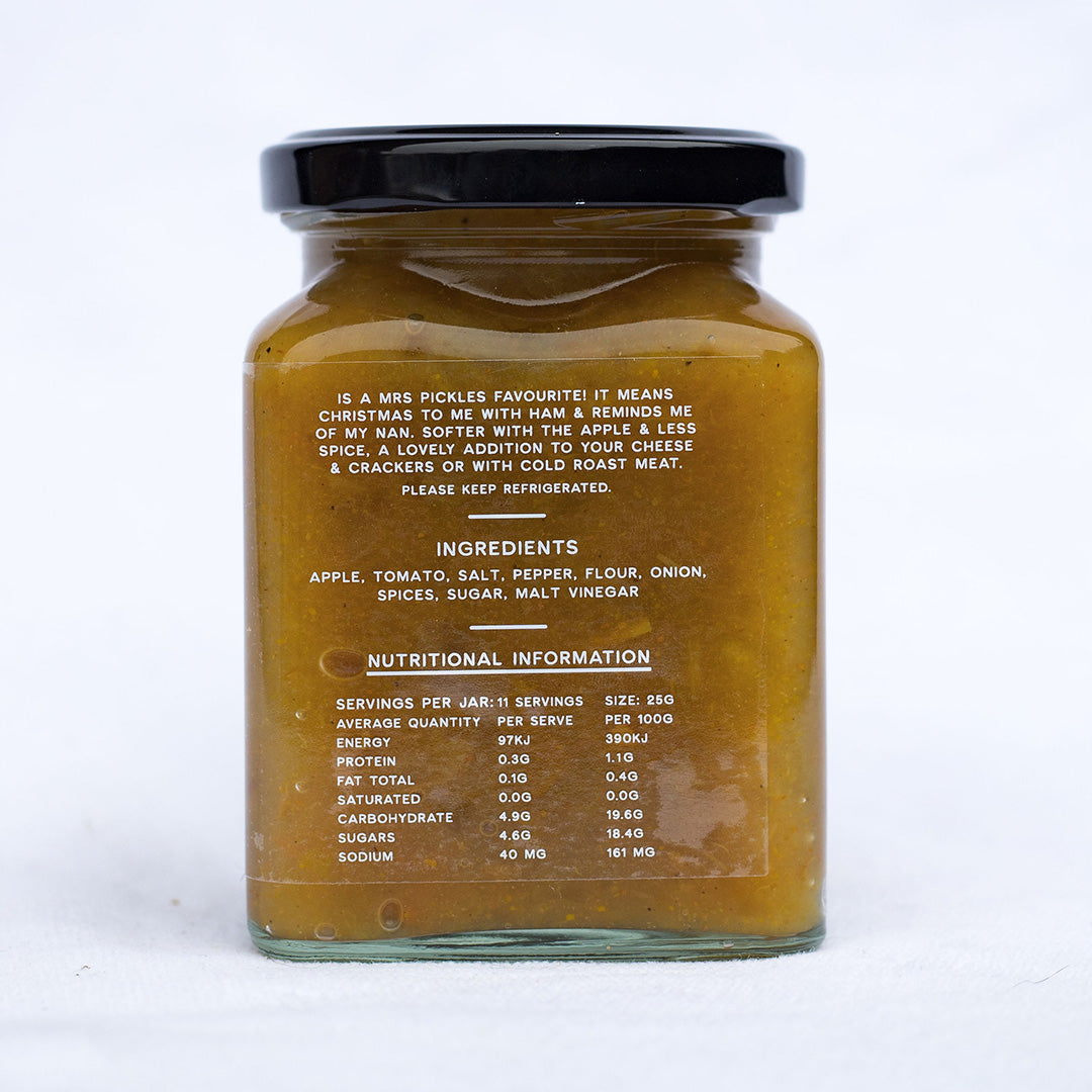 Nana's Green Tomato Relish 270gm