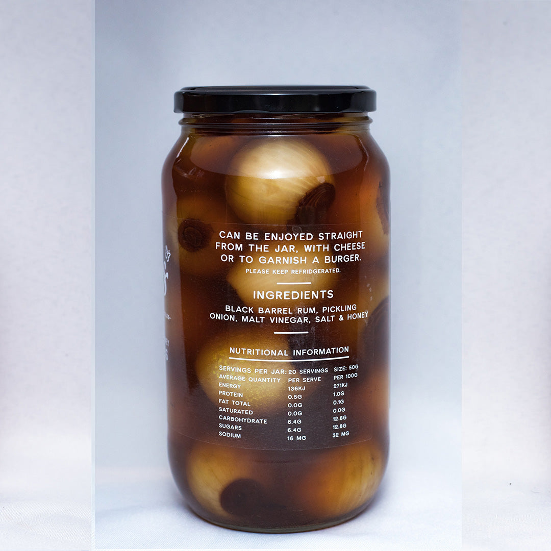 Honey Bourbon Pickled Onions 1 KG
