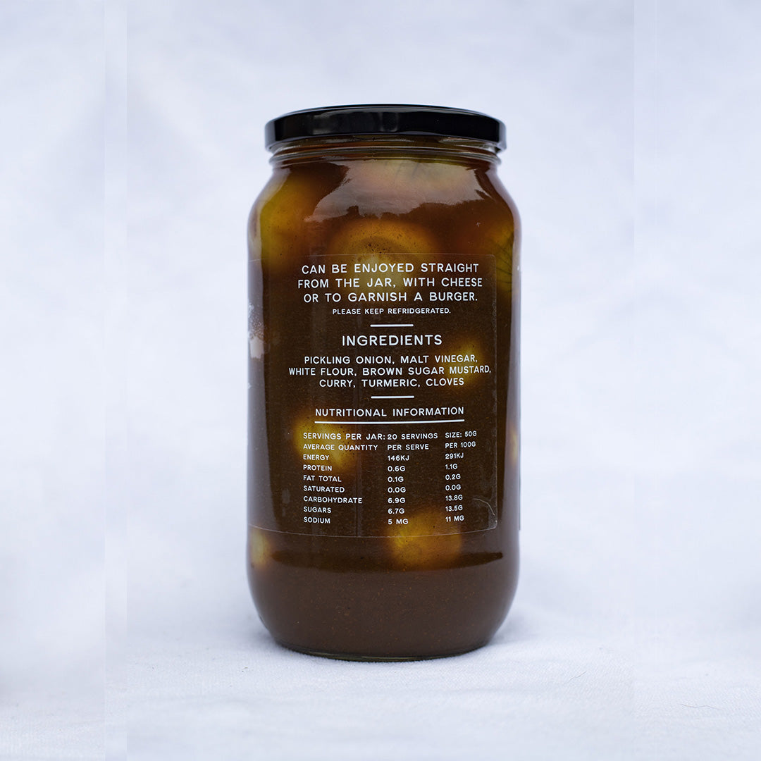 Curried Pickled Onions 1 KG