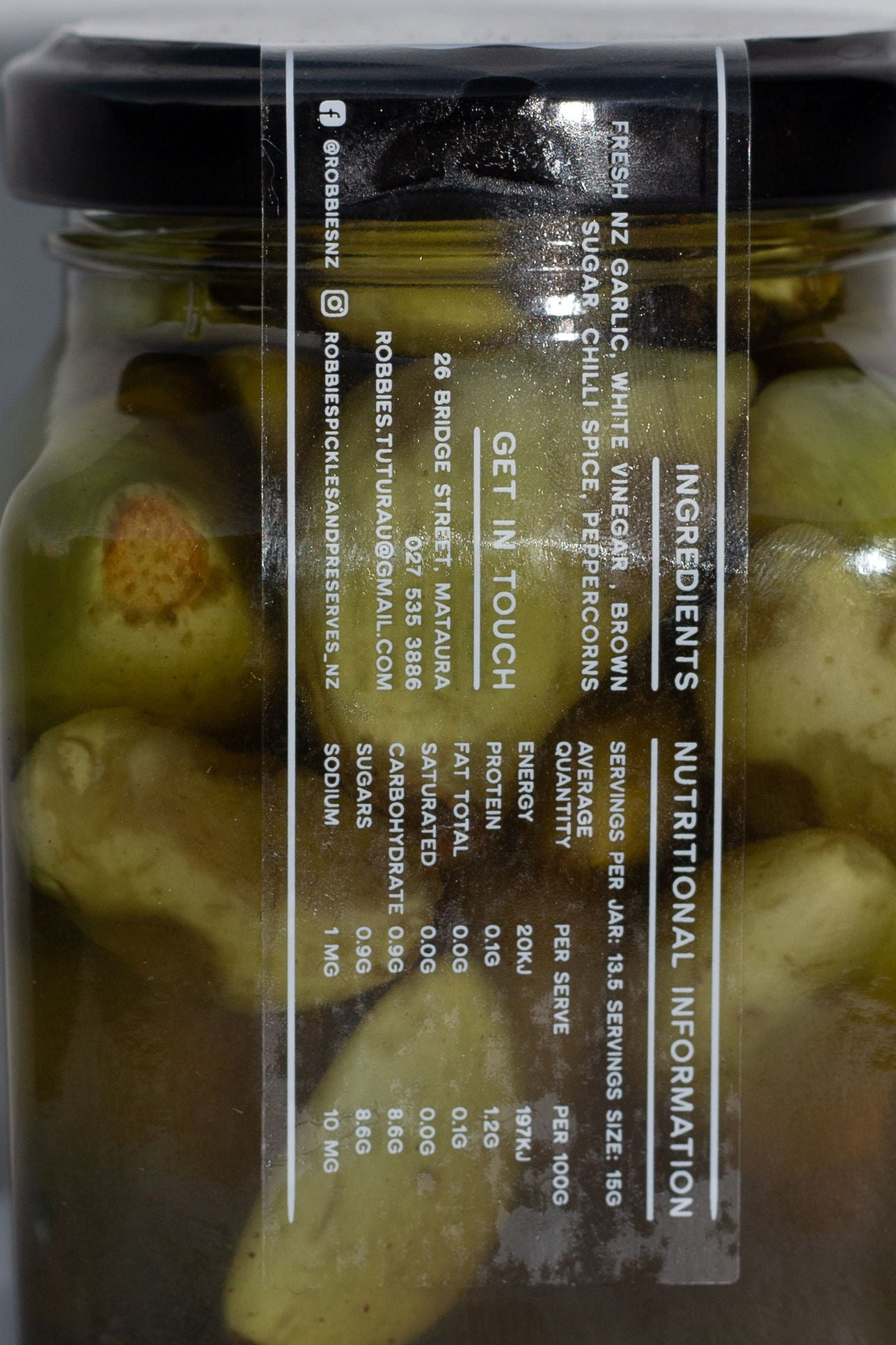 Pickled Garlic 200gm