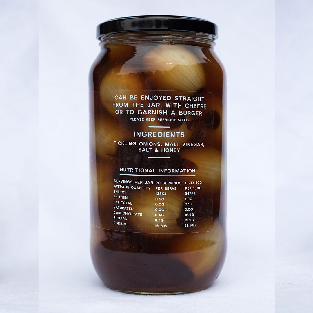 Honey Pickled Onions 1 KG