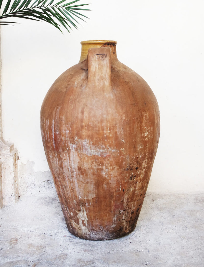 Large Terracotta Umbrian Orcio