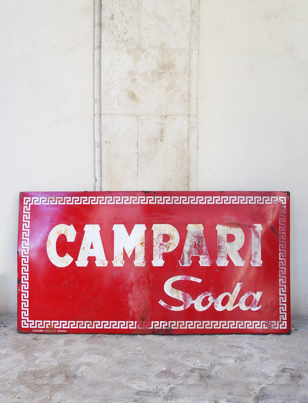 Original Vintage Campari Sign