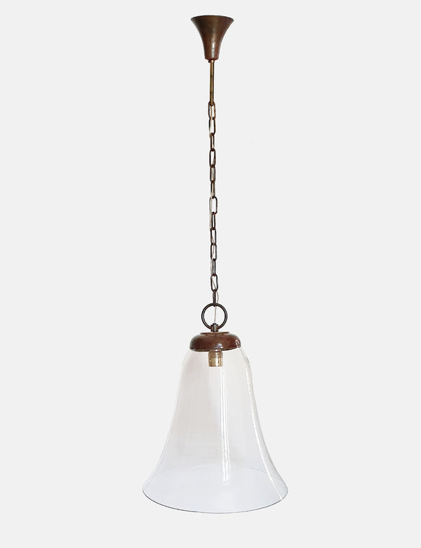Extra Large Italian Bell Pendant Light