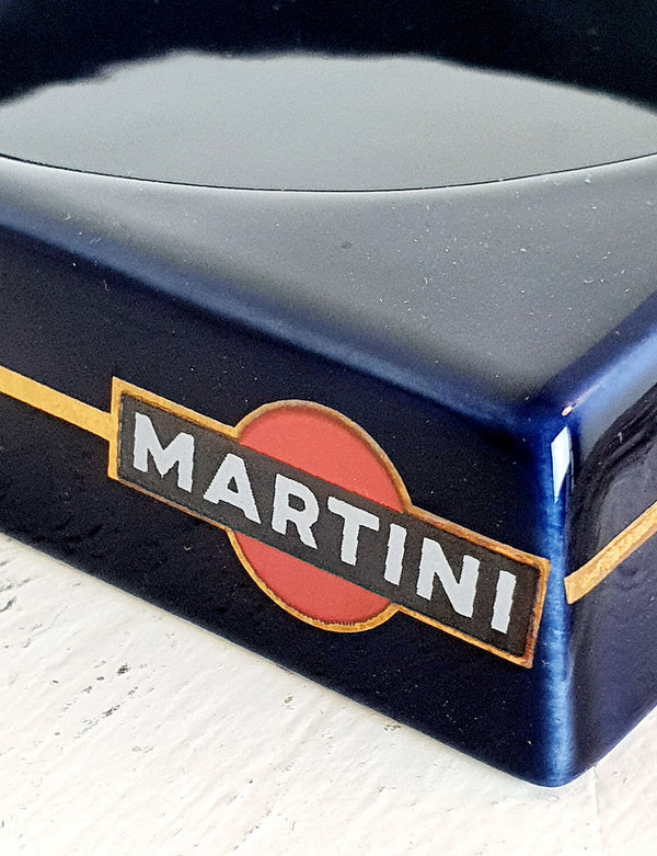 1970s Ceramic Martini Ashtray