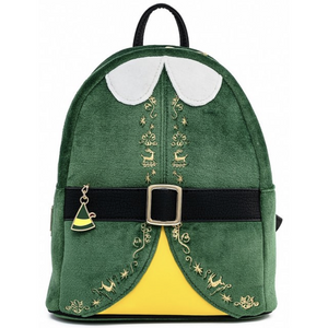 Loungefly Elf Buddy Cosplay Mini Backpack