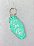Bibbidi Attraction Suite Retro Keychain - Enchanted Tiki Room Inspired (Series 1)