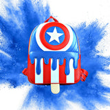 Danielle Nicole - Marvel Captain America Popsicle Mini Backpack