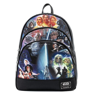 Loungefly Star Wars Original Trilogy Mini Backpack (PRE-ORDER)