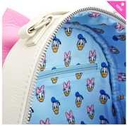 Loungefly - Disney Donald/Daisy Reversible Mini-Backpack