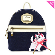 Loungefly - Marie Denim Mini-Backpack
