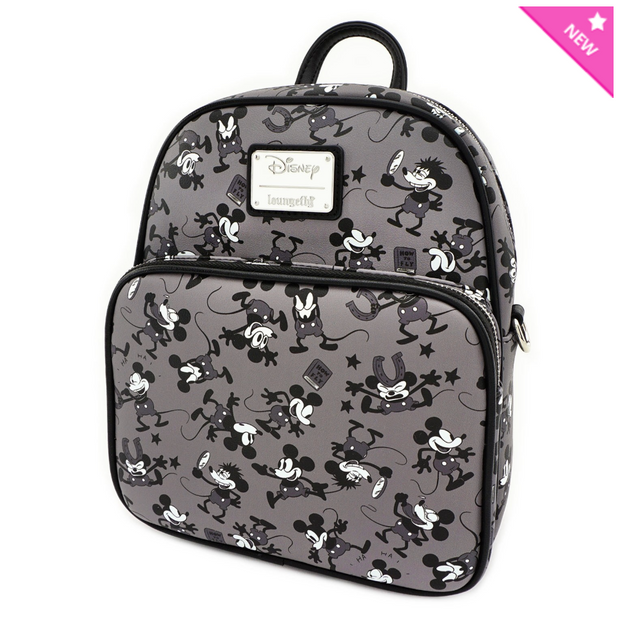 Loungefly - Mickey Mouse Plane Crazy Mini-Backpack