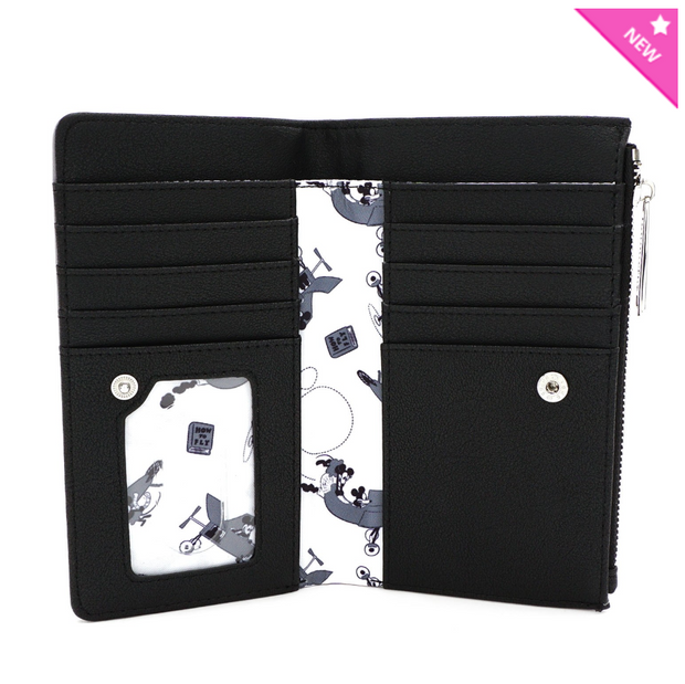 Loungefly - Mickey Mouse Plane Crazy Small Wallet
