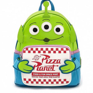 Loungefly - Disney Pixar Toy Story Alien Pizza Planet Mini Backpack