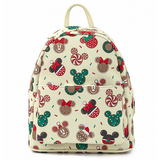 Loungefly Disney Mickey & Minnie Christmas Cookies Mini Backpack