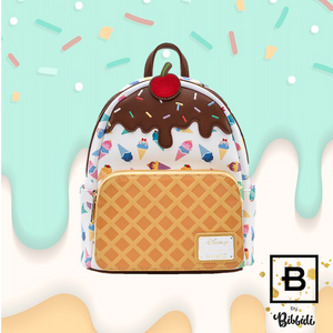 Loungefly Disney Princess Ice-Cream Cone Mini Backpack