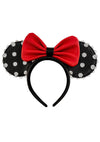 Loungefly X Disney Minnie Pin Trader Ears Headband