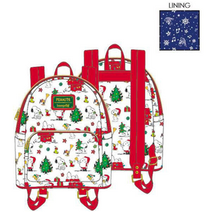 Loungefly Snoopy Christmas Mini Backpack