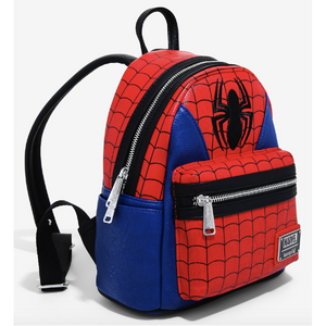 Loungefly x Marvel Spiderman Suit Cosplay Mini-Backpack