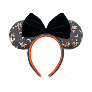 Loungefly - Mickey Vampire and Minnie Witch AOP Ears Headband