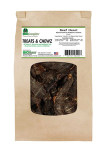 Beef Heart Treats-My Paleo Pet