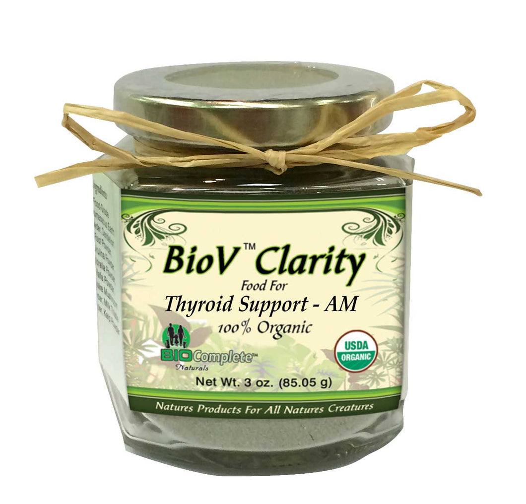 Thyroid Support AM Blend Organic Herbal Food-My Paleo Pet