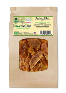 Turkey Breast Roasted Filet With Added Turmeric-My Paleo Pet